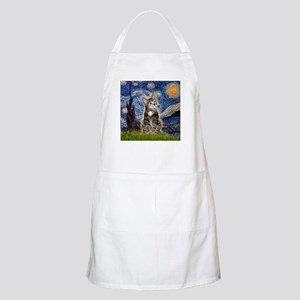 Starry / Tiger Cat BBQ Apron