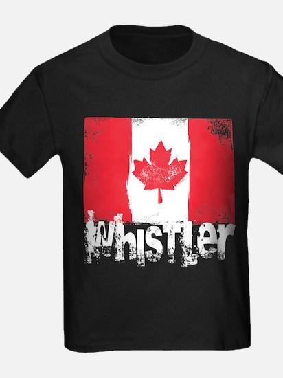 Whistler Grunge Flag T
