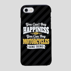 Biker Happiness iPhone 7 Tough Case