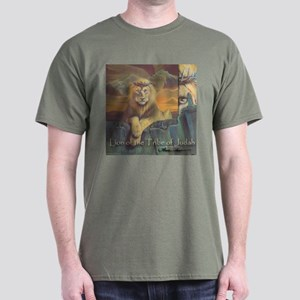 """Lion of Judah"" Fine Art Chrsitian Color T-Shirt"