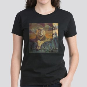 """Lion of Judah"" Fine Art Women's Dark T-Shirt"