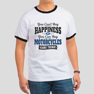 Biker Happiness Ringer T