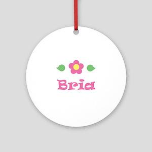 """Pink Daisy - """"Bria"""" Ornament (Round)"""