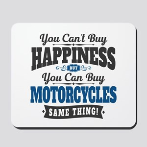Biker Happiness Mousepad