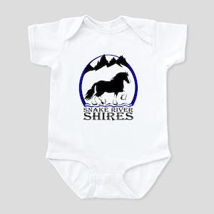 Snake Rive Shires Infant Bodysuit