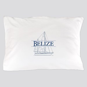 Belize sailboat - Pillow Case