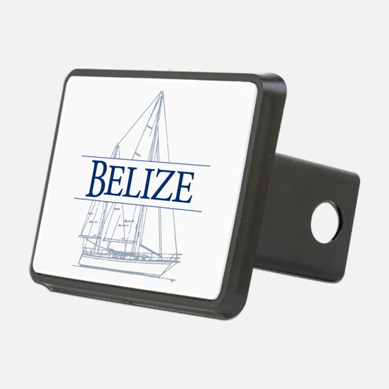 Belize sailboat - Hitch Cover