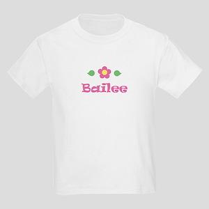 "Pink Daisy - ""Bailee"" Kids T-Shirt"