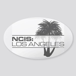 NCISLA Palms Sticker (Oval)