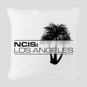 NCISLA Palms Woven Throw Pillow