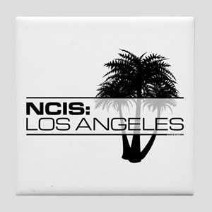 NCISLA Palms Tile Coaster