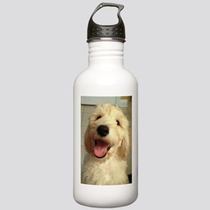 Happy Goldendoodle Water Bottle