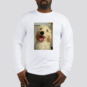 Happy Goldendoodle Long Sleeve T-Shirt