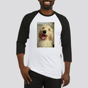 Happy Goldendoodle Baseball Jersey