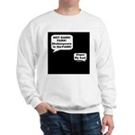 Shakespeare in the Dark Sweatshirt