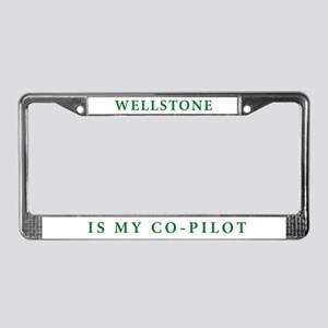 License Plate Frame: Wellstone