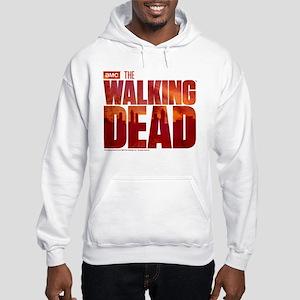 The Walking Dead Blood Logo Hooded Sweatshirt