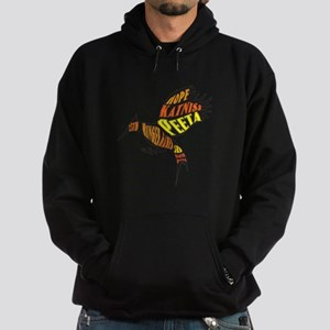 MockingJay Hope Text Hoodie (dark)