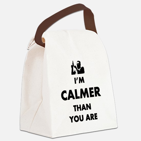 Calming Canvas Lunch Bag