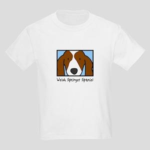 Anime Welsh Springer Spaniel Kids T-Shirt