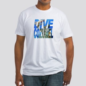 Dive Cozumel Fitted T-Shirt