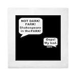 Shakespeare in the Dark Queen Duvet