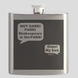 Shakespeare in the Dark Flask
