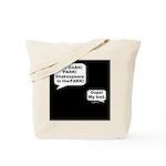 Shakespeare in the Dark Tote Bag