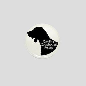 Carolina Coonhound Rescue Mini Button