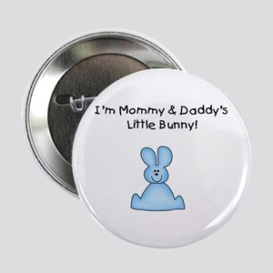 Mommy & Daddy's Bunny Button