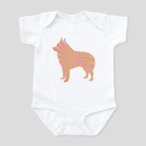 Schipperke Rays Infant Bodysuit