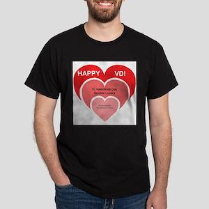 Happy VD Dark T-Shirt