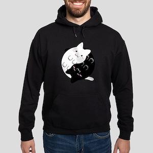 Ying Yang Cat Sweatshirt