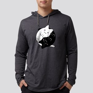 Ying Yang Cat Long Sleeve T-Shirt