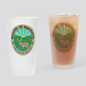 Republic Of Appalachia Drinking Glass
