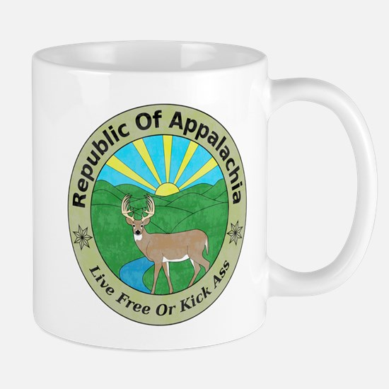 Republic Of Appalachia Mugs