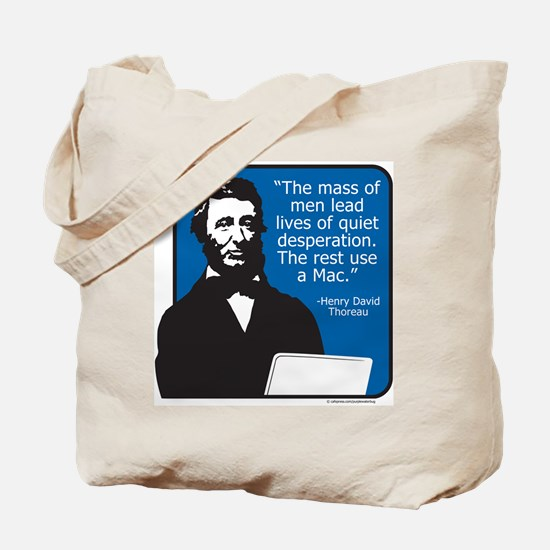 Thoreau Mac Tote Bag