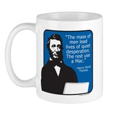 Thoreau Mac Mug