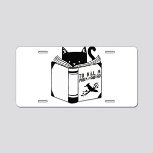 To Kill A Mockingbird Cat R Aluminum License Plate