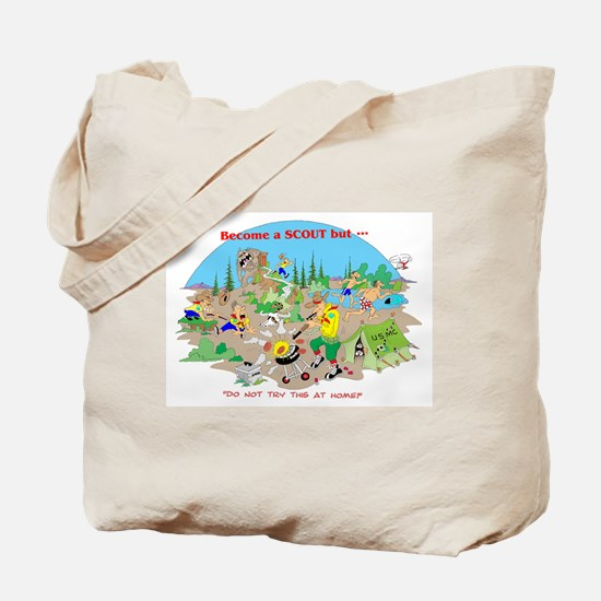 DO NOT try this at home Tote Bag
