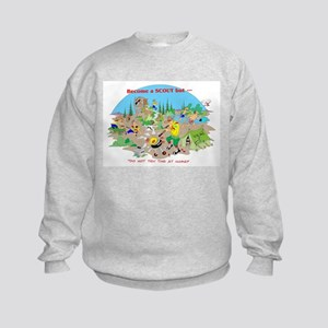 DO NOT try this at home Kids Sweatshirt