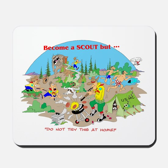 DO NOT try this at home Mousepad
