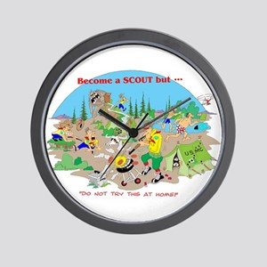 DO NOT try this at home Wall Clock