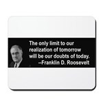 Inspiration from FDR Mousepad
