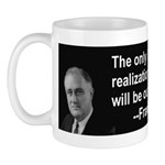 Inspiration from FDR Mug