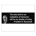 Inspiration from FDR Small Poster