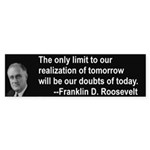 Inspiration from FDR Bumper Sticker