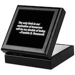 Inspiration from FDR Keepsake Box