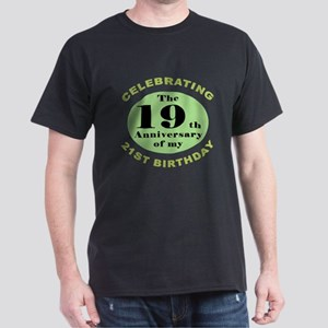 Funny 40th Birthday Dark T-Shirt