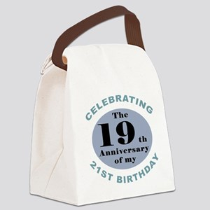 Funny 40th Birthday Canvas Lunch Bag